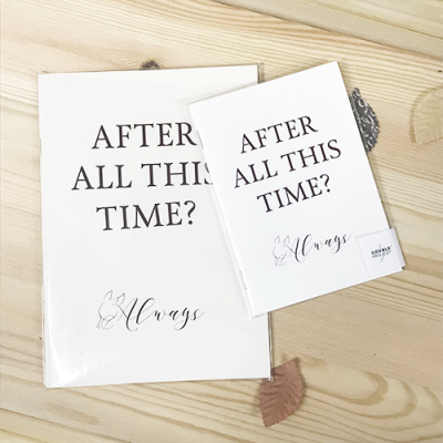 Libreta After All This Time | Double Project