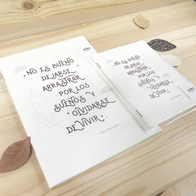 Libreta Frase Dumbledore | Double Project