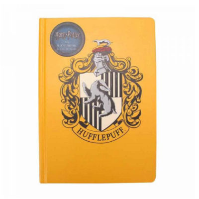 Harry Potter libreta Hufflepuff A5 - Double Project