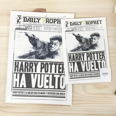 Libreta Harry Potter ha vuelto - Double Project