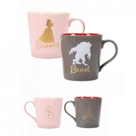 La Bella y la Bestia Pack 2 tazas Beauty & Beast | Double Project
