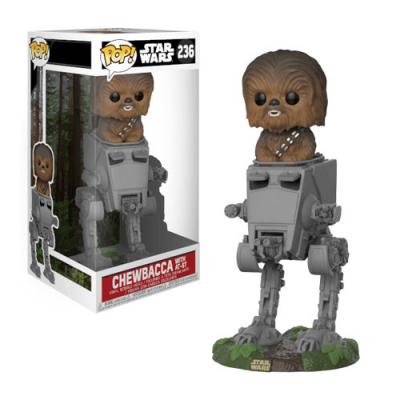 POP Chewbacca with AT-ST Star Wars - Double Project
