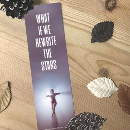 Punto de Libro Rewrite The Stars | Double Project