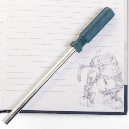Star Wars libreta R2D2 A5 con bolígrafo | Double Project