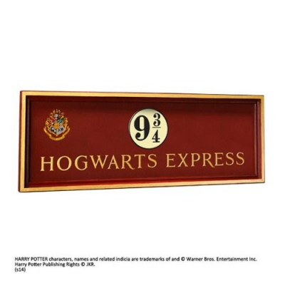 Harry Potter Señal Hogwarts Express 9 3/4 - Double Project