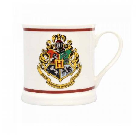 Taza vintage Hogwarts emblema - Double Project
