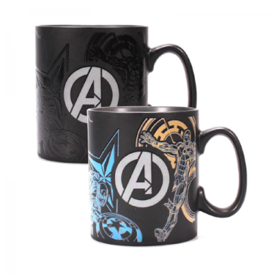 Marvel taza sensitiva al calor Avengers - Double Project