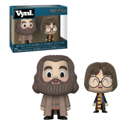 Pack Vynl Harry Potter & Rubeus Hagrid - Double Project