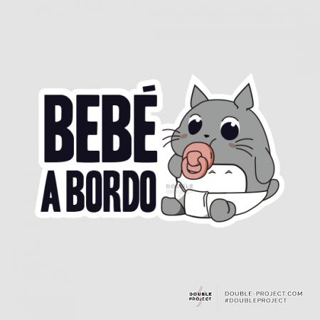 Bebé a Bordo Totoro | Double Project