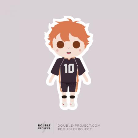Sticker Haikyuu! Hinata Shōyō | Double Project