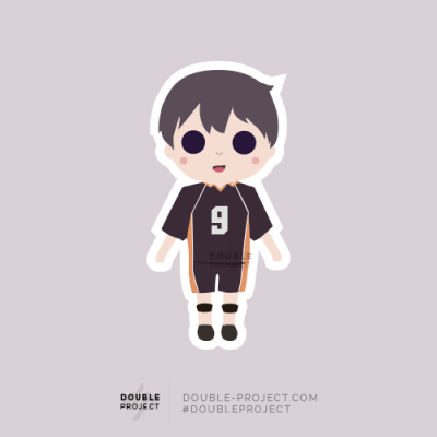 Sticker Haikyuu! Tobio Kageyama | Double Project