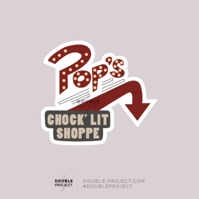 Sticker POP's Riverdale - Double Project