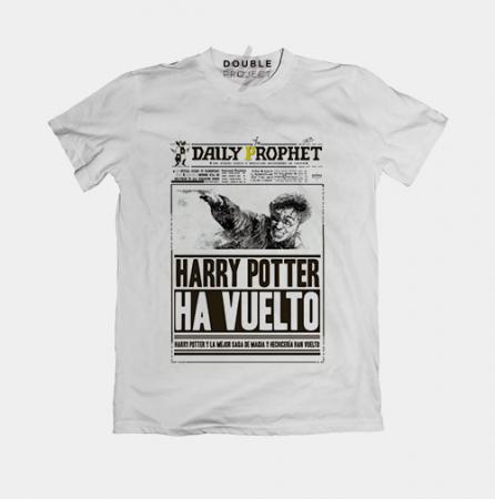 Camiseta Harry ha vuelto | Double Project