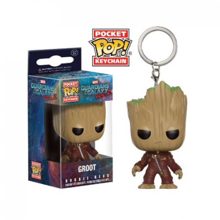 Llavero Pocket POP Groot Guardianes de la Galaxia Vol. 2 | Double Project