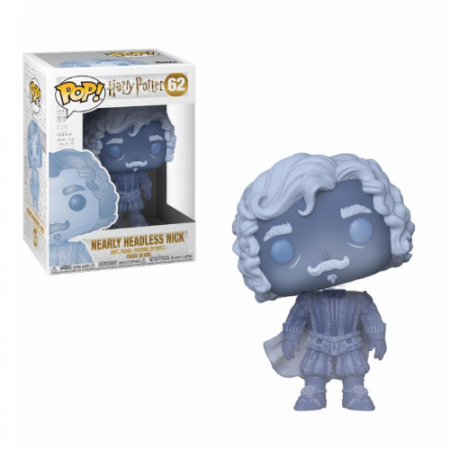 POP Nearly Headless Nick (Blue Translucent) | Double Project
