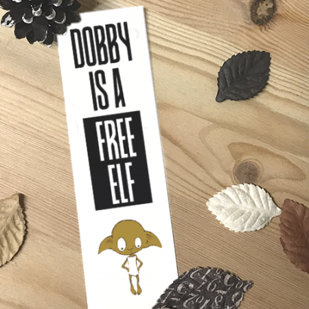 Punto de libro Dobby is a free | Double Project