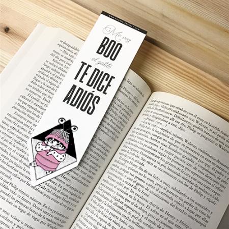 Punto de libro Adiós Boo | Double Project