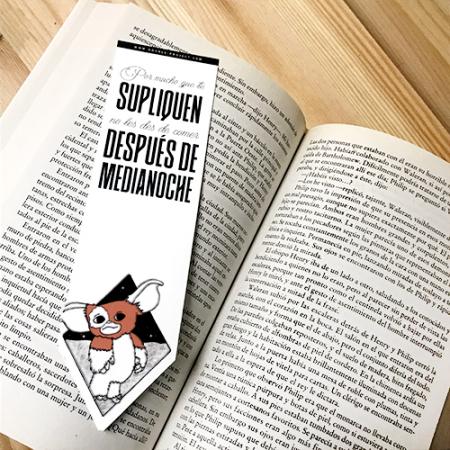 Punto de libro No les des de comer Gremlins | Double Project
