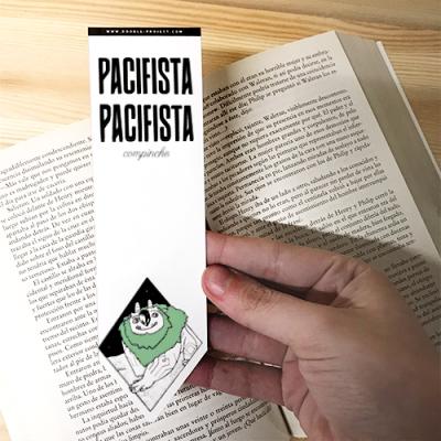 Punto de libro Pacifista Pacifista Compinche | Double Project