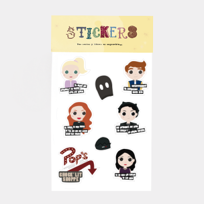 Pack Stickers Riverdale | Double Project
