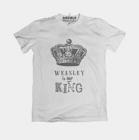 Camiseta Weasley is our King - Double Project