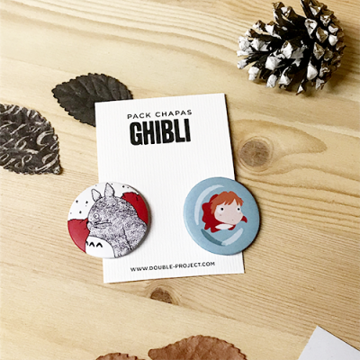 Pack Chapas Ghibli | Double Project