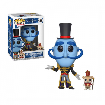 Coraline POP Mr. Bobinsky with Mouse | Double Project
