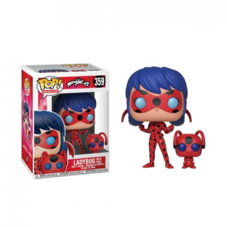 POP Ladybug con Tikki Miraculous | Double Project