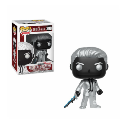 Spider-Man Gameverse POP! Mister Negative | Double Project