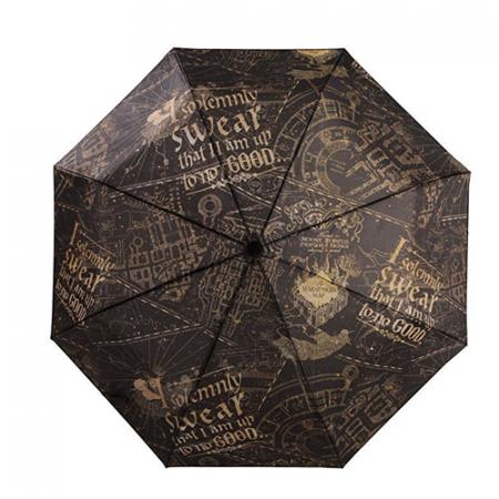 Harry Potter Paraguas Juro solemnemente Mapa del Merodeador | Double Project