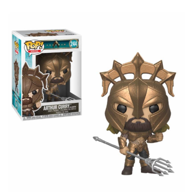 POP Arthur Currys as Gladiator Aquaman Movie DC | Double Project