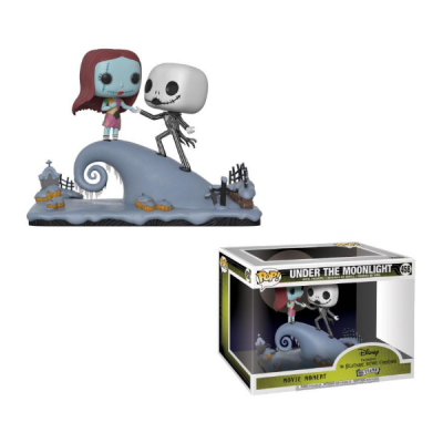 POP Movie Moments Under the Moonlight Jack & Sally Pesadilla antes de navidad | Double Project