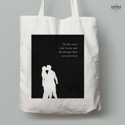 Tote Bag To the Stars who listen | Double Project