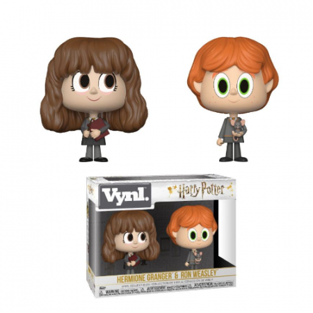 Pack Vynl Harry Potter Ron & Hermione | Double Project