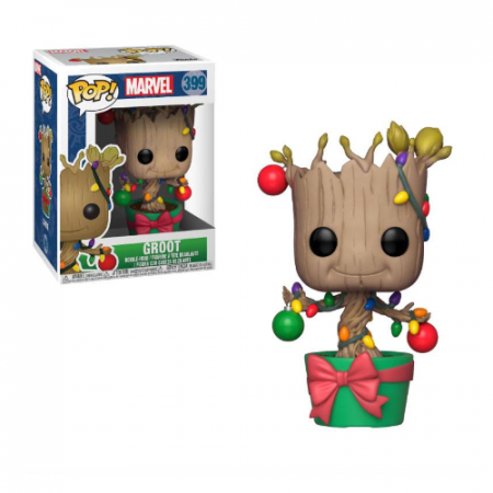 Marvel POP Groot (Lights & ornaments) | Double Project