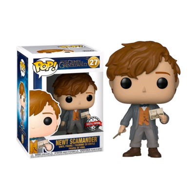 POP Newt Scamander Chase Animales Fantásticos 2 | Double Project