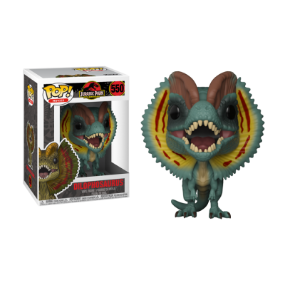 POP Dilophosaurus Jurassic Park | Double Project