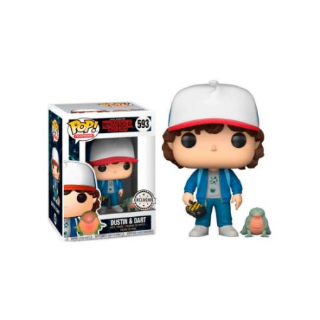 Stranger Things POP Dustin & Dart Exclusive | Double Project