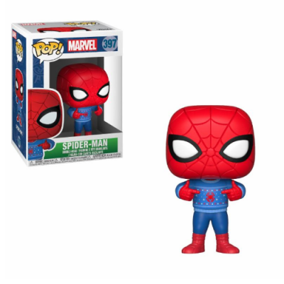 POP Marvel Holiday Spider-man (ugly Sweater) | Double Project