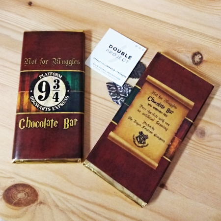 Harry Potter Tableta Chocolate Hogwarts Express Anden 9 3/4 | Double Project