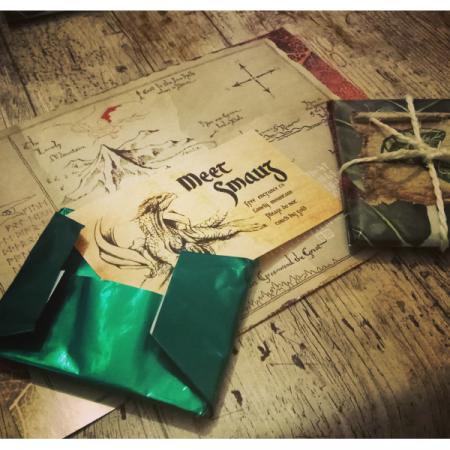 El señor de los anillos tableta de chocolate pan de Lembas | Double Project