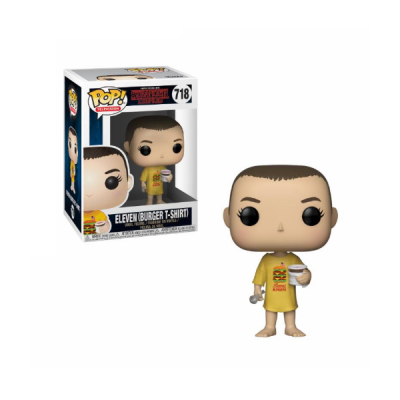 Stranger Things POP Eleven in Burger Tee | Double Project