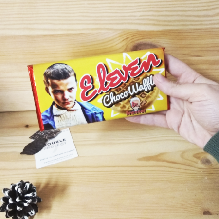 Stranger Things tableta de chocolate Eleven | Double Project