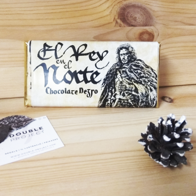 Juego de Tronos Tableta de Chocolate el rey del norte | Double Project