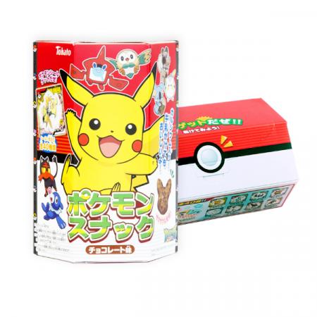 Galletas Snack Pikachu Sabor Chocolate | Double Project