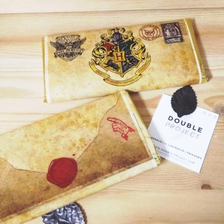 Harry Potter Tableta de chocotale Carta de Hogwarts | Double Project