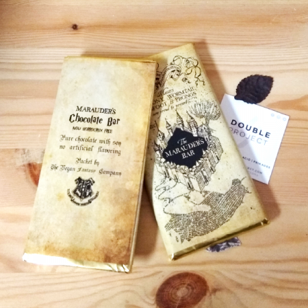 Harry potter Tableta Chocolate Mapa del Merodeador | Double Project