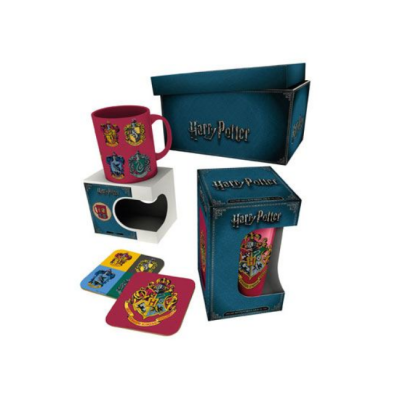 Harry Potter Pack Escudo Hogwarts Pack de regalo | Double Project