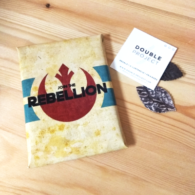Star Wars Tableta de Chocolate Rebellion | Double Project