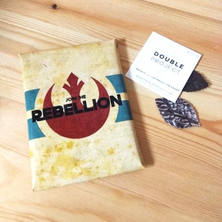 Star Wars Tableta de Chocolate Rebellion | Double Project